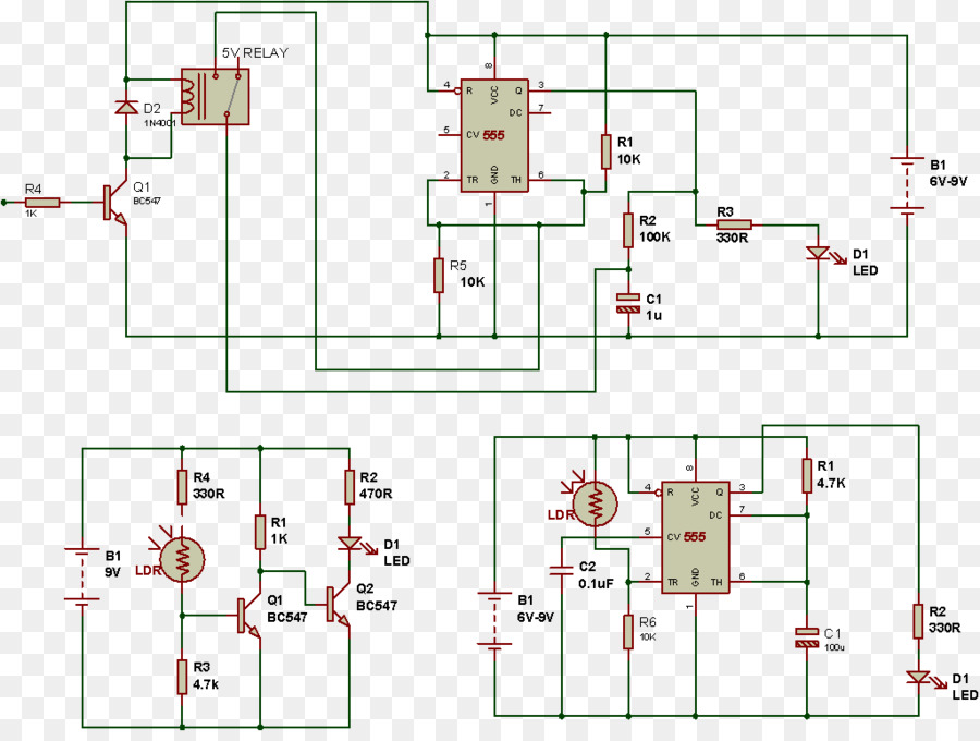 Electronic circuit Electrical network Wiring diagram Electrical