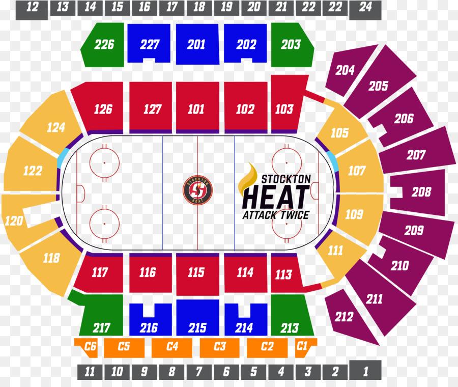 Stockton Arena Stockton Heat Hershey Bears Giant Center Ticket