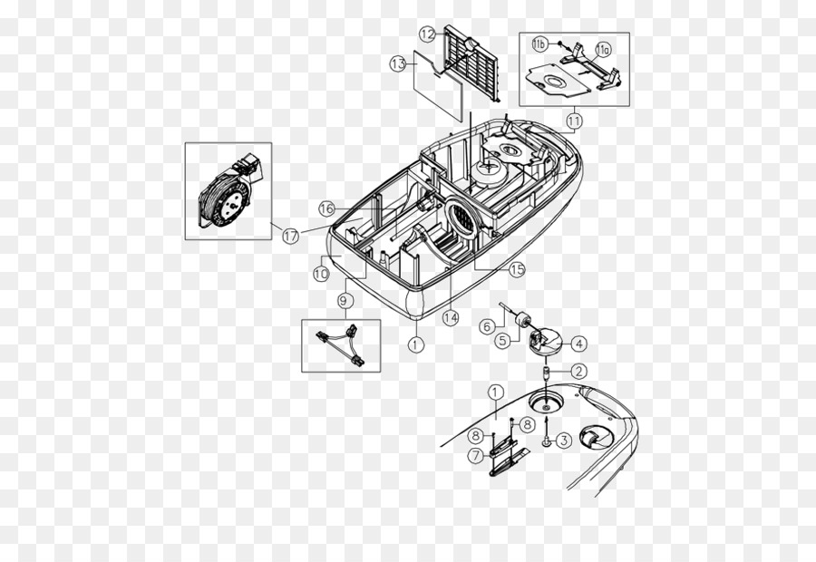 Drawing Car Diagram - assembly power tools png download - 590*613