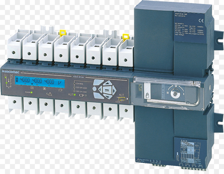 Transfer switch Electrical Switches SOCOMEC Group SA Wiring