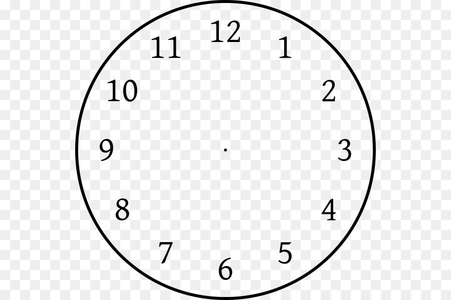 Clock face Template Clock position Clip art - clock without hands