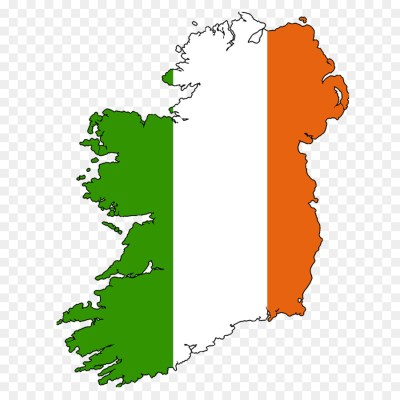 Outline of the Republic of Ireland Blank map Irish - ireland map png download - 1280*1280 - Free ...
