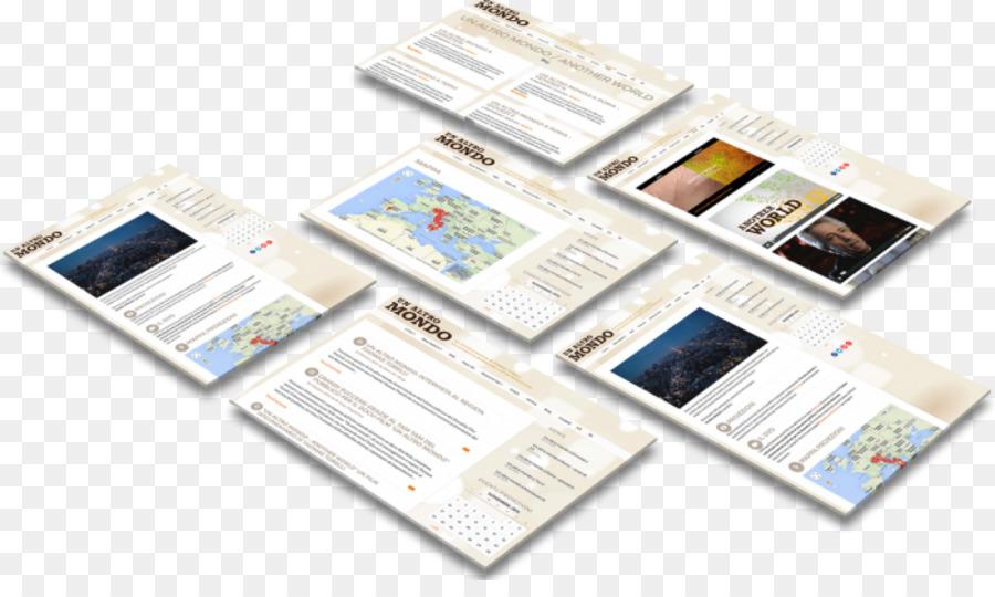 Paper Brand - Website Mockup Free png download - 1200*700 - Free