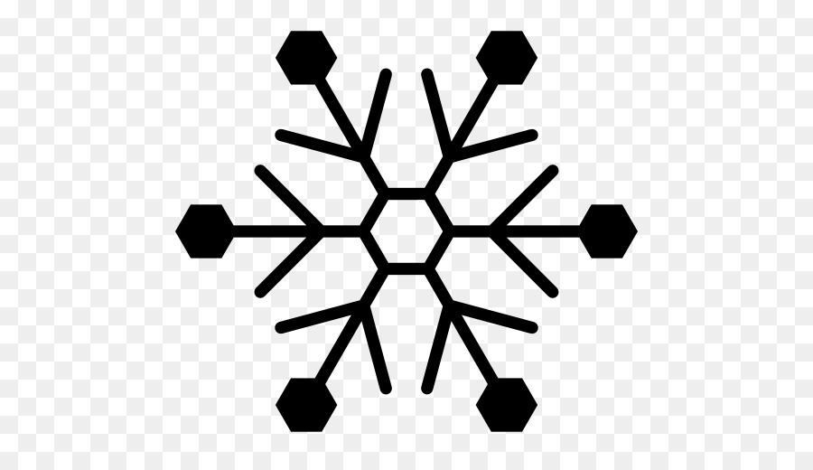 Snowflake Template Drawing Pattern - Snowflake png download - 512 - snowflake template