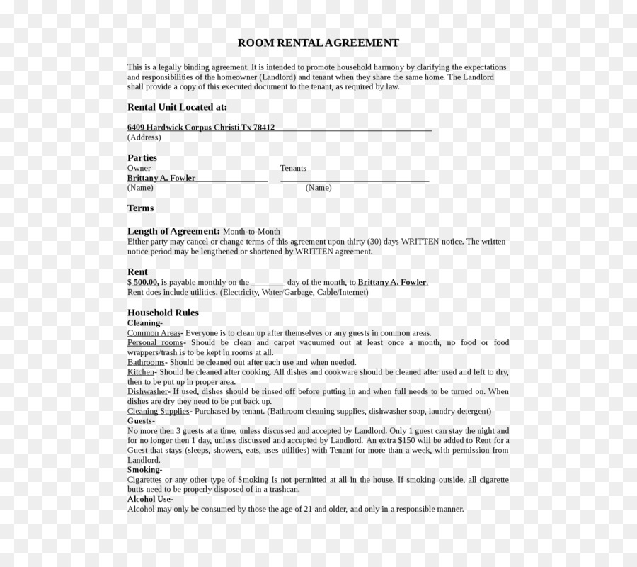Rental agreement House Lease Contract Renting - house png download