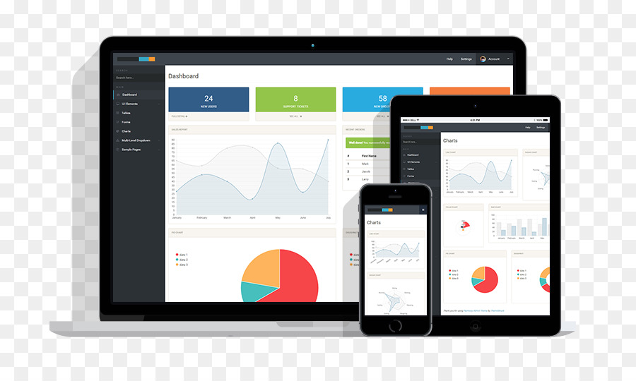 Responsive web design E-commerce Web template system - small fresh - calendar template for website