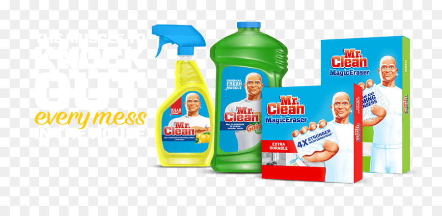 Mr Clean Cleaning agent Cleaner - mr clean png download - 940*440