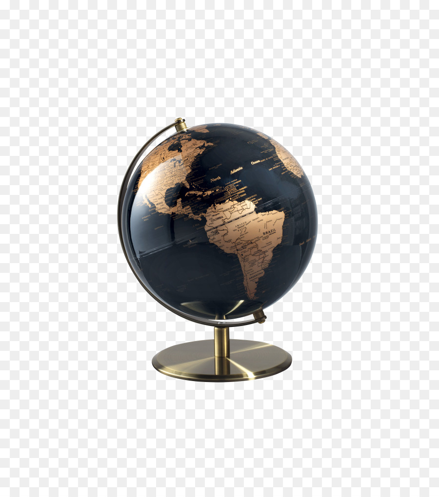 Mobilier Transparent Globe World Map Furniture Clock Éco Mobilier Globe Png Download