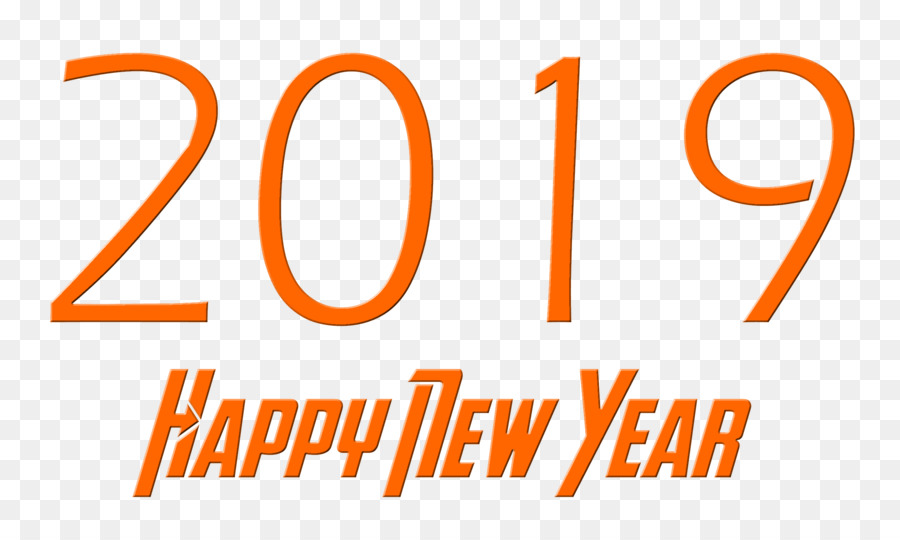 Happy New Year 2019 Goldpng - 2019 New Year png download - 2500