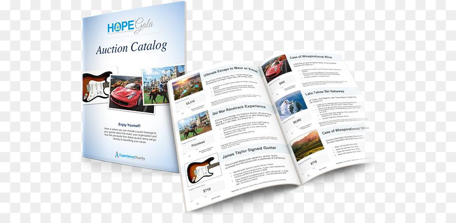Auction catalog Brochure Flyer - Business brochure template png