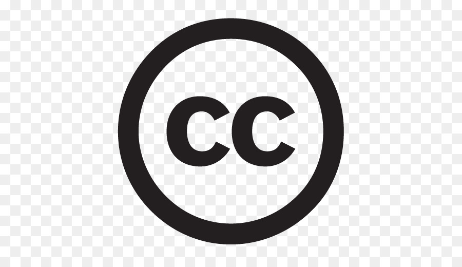 Creative Commons license Copyright Symbol - copyright png download