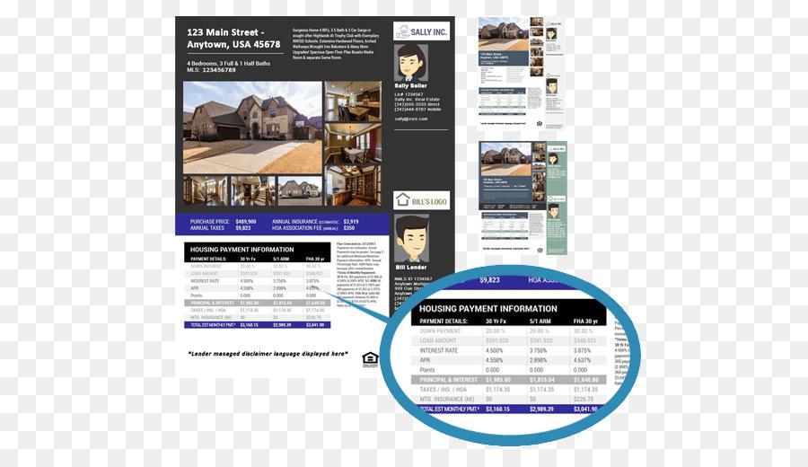 Real Estate Estate agent House Multiple listing service Flyer