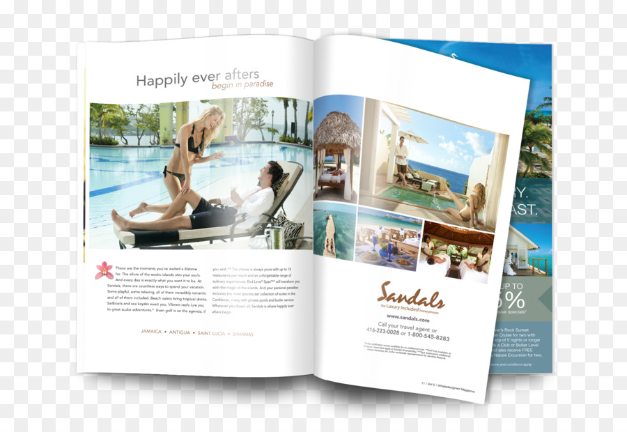 Advertising Sandals Resorts Hotel Travel - hotel png download - 1800