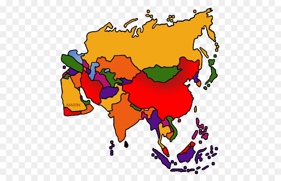 Clip art Openclipart Southeast Asia Free content Map - Asia
