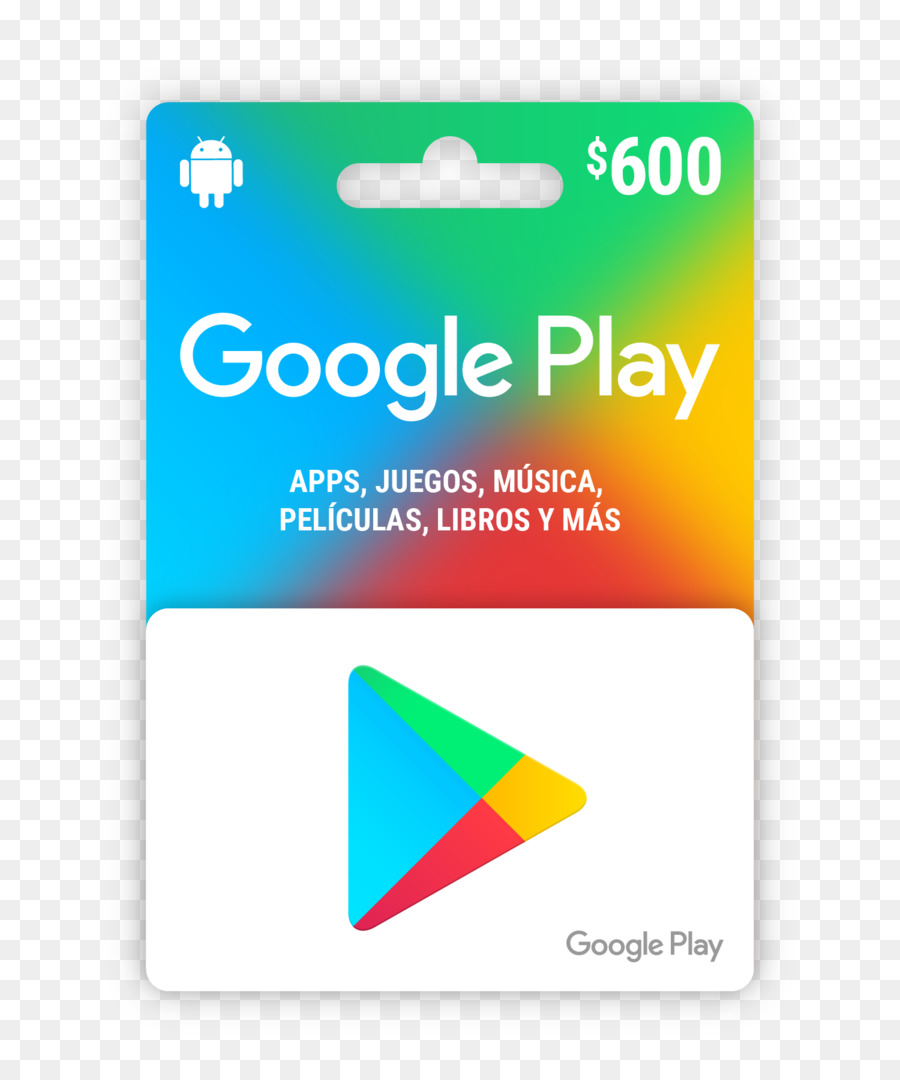 Libros Android Google Play Gift Card Android Google Png Download 1500 1800