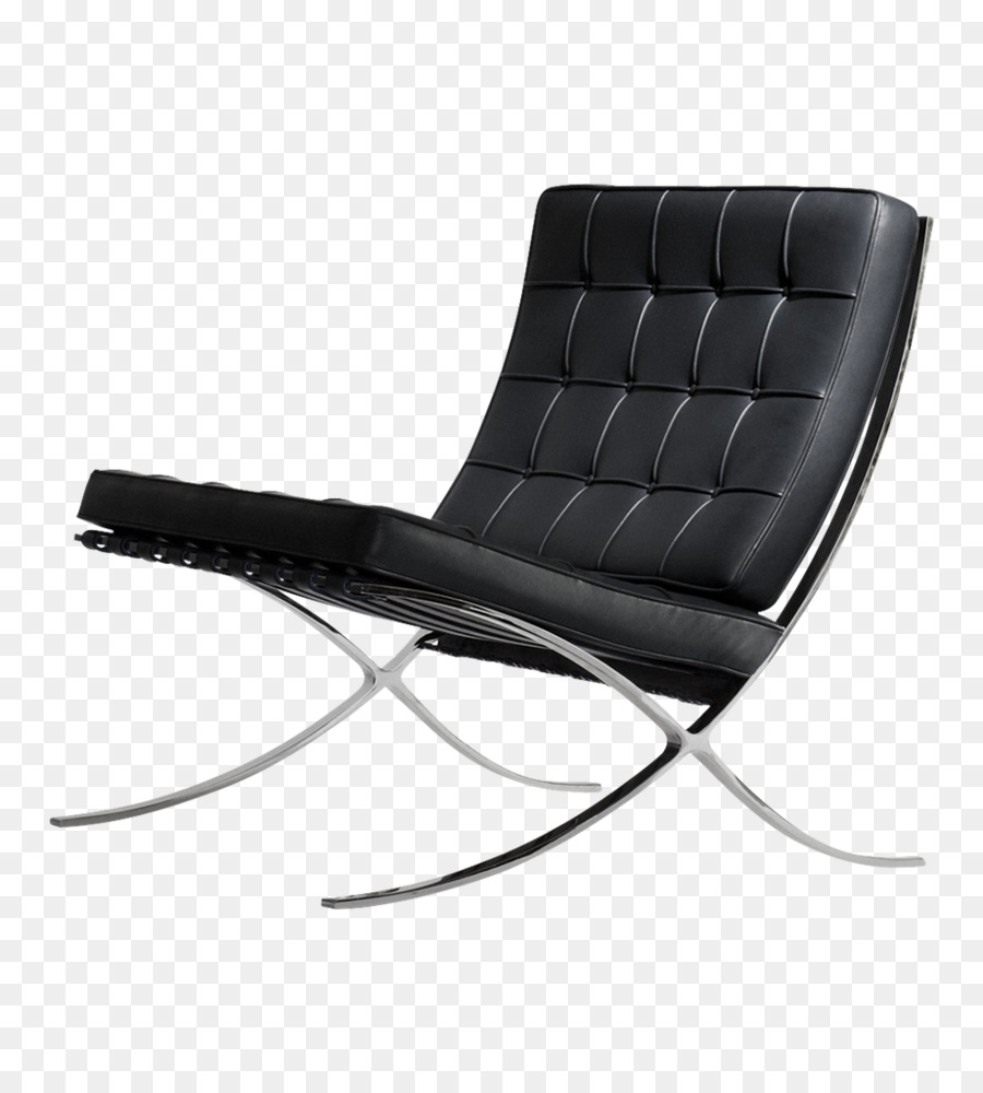 Chaise Barcelona Barcelona Chair Brno Chair Chaise Longue Knoll Chair Png