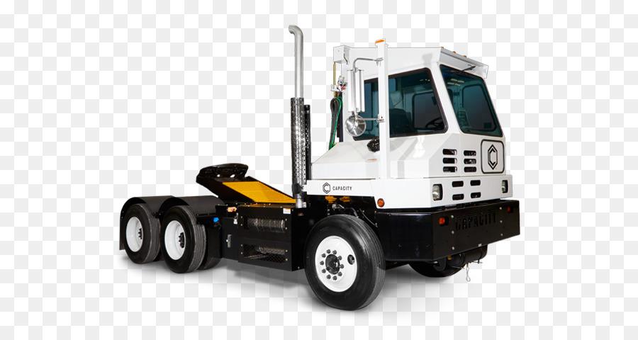 Terminal tractor Capacity Trucks Semi-trailer truck Car - lawn