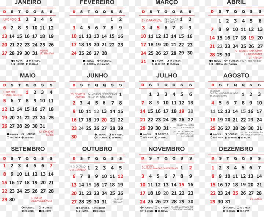 Calendario laboral 0 1 Holiday - cz png download - 2200*1768 - Free