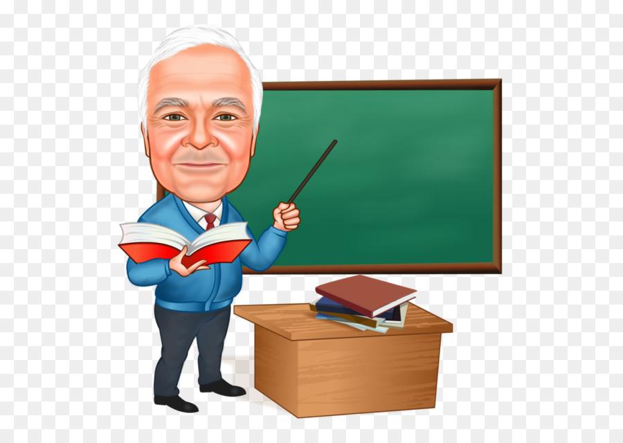 Professor Teacher Caricature Animated cartoon - teacher png download