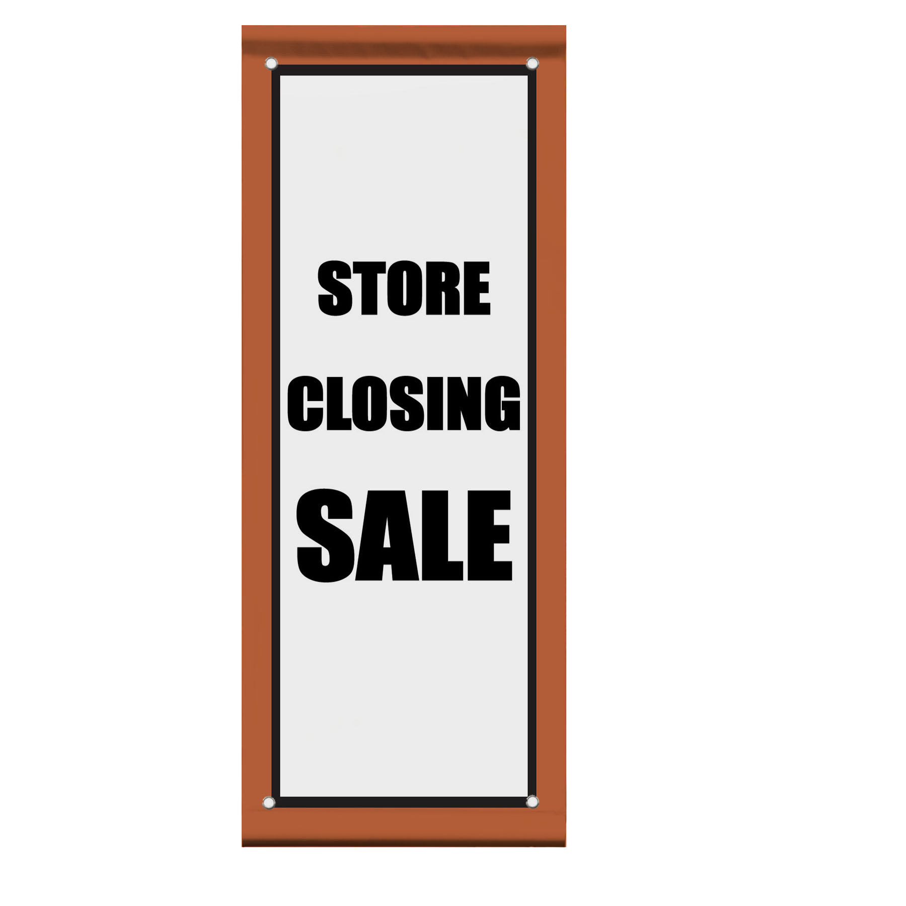 Store Banne Promotion Store Closing Sale Promotion Business Double Sided