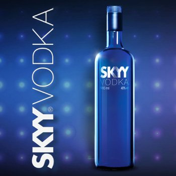 Rượu Vodka SKYY 750ml-USA