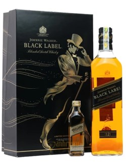Rượu Johnnie Walker Black Label hộp quà 2019