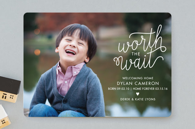 Worth the Wait Announcement for Minted - Banter and Charm