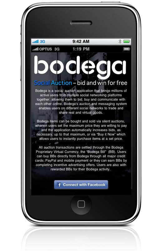 Bodega iPhone app Bappz