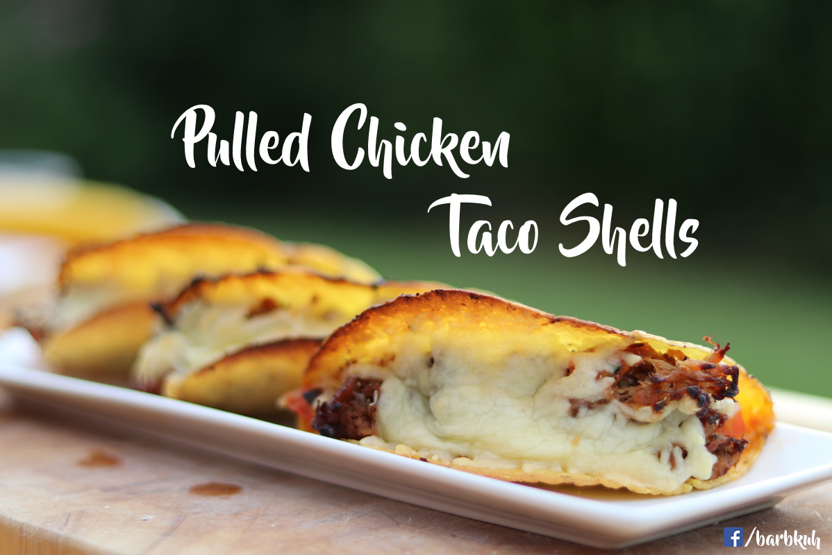 Pulled Chicken Taco Shells