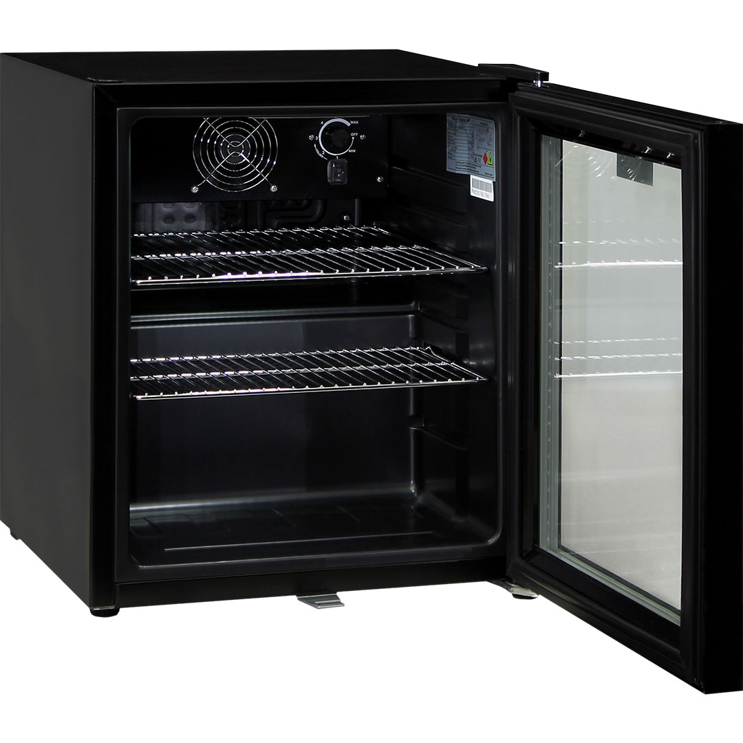 Bar Fridges Brisbane Glass Door Compact Bar Fridge 50 Litre With Lock