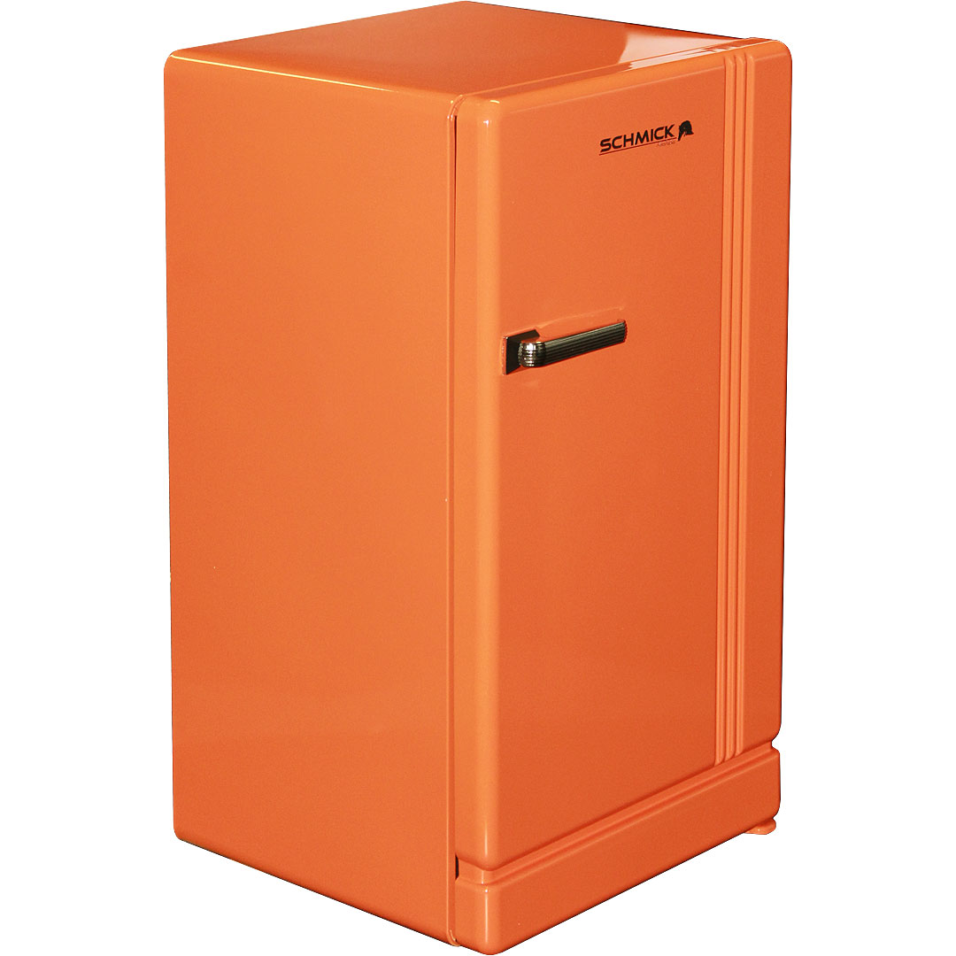 Yellow Fridge Freezer Retro Orange Bar Refrigerator Nostalgic Look With Col