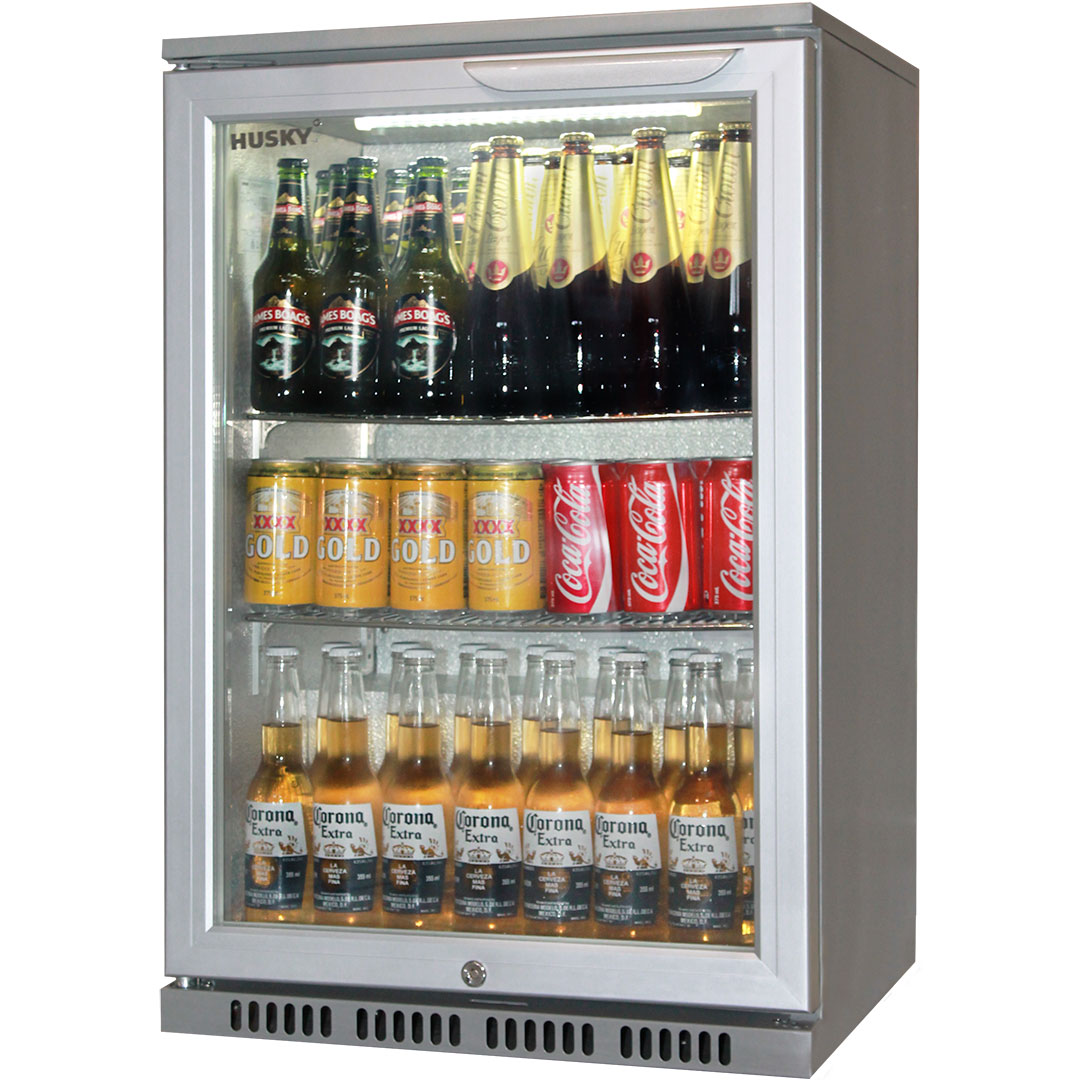 Bar Fridges Brisbane Husky 1 Door Commercial Bar Fridge With Low Energy Consumption