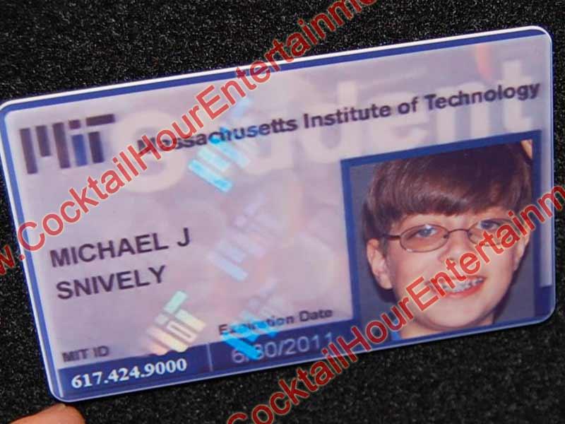 Fantasy Fake ID Cards Bar Mitzvah Entertainment Florida