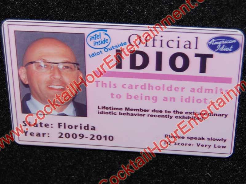 Fantasy Fake ID Cards Bar Mitzvah Entertainment Florida - sample id cards