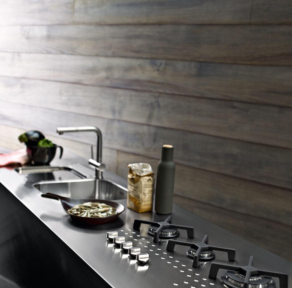 Piano Cucina Acciaio | Piani Cottura Alpes Inox Prezzi Cucina ...
