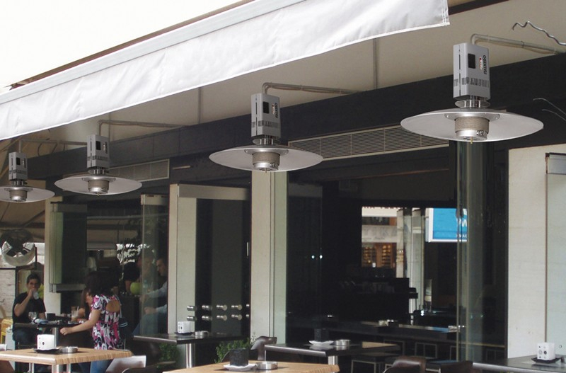 Exterieur Vondom Hanging Gas Patio Heater Spider By Italkero