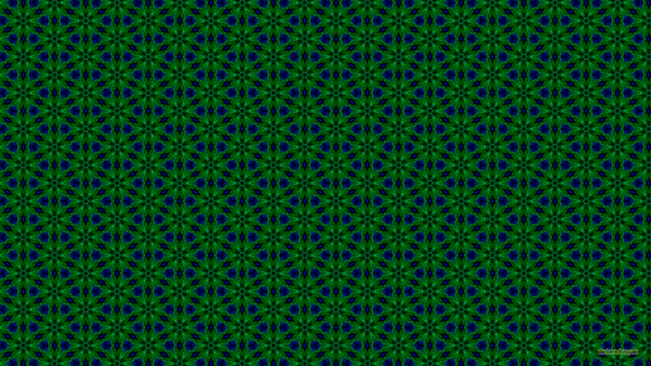 Computer Wallpaper Fall Leaves Blue With Green Patterns Barbaras Hd Wallpapers