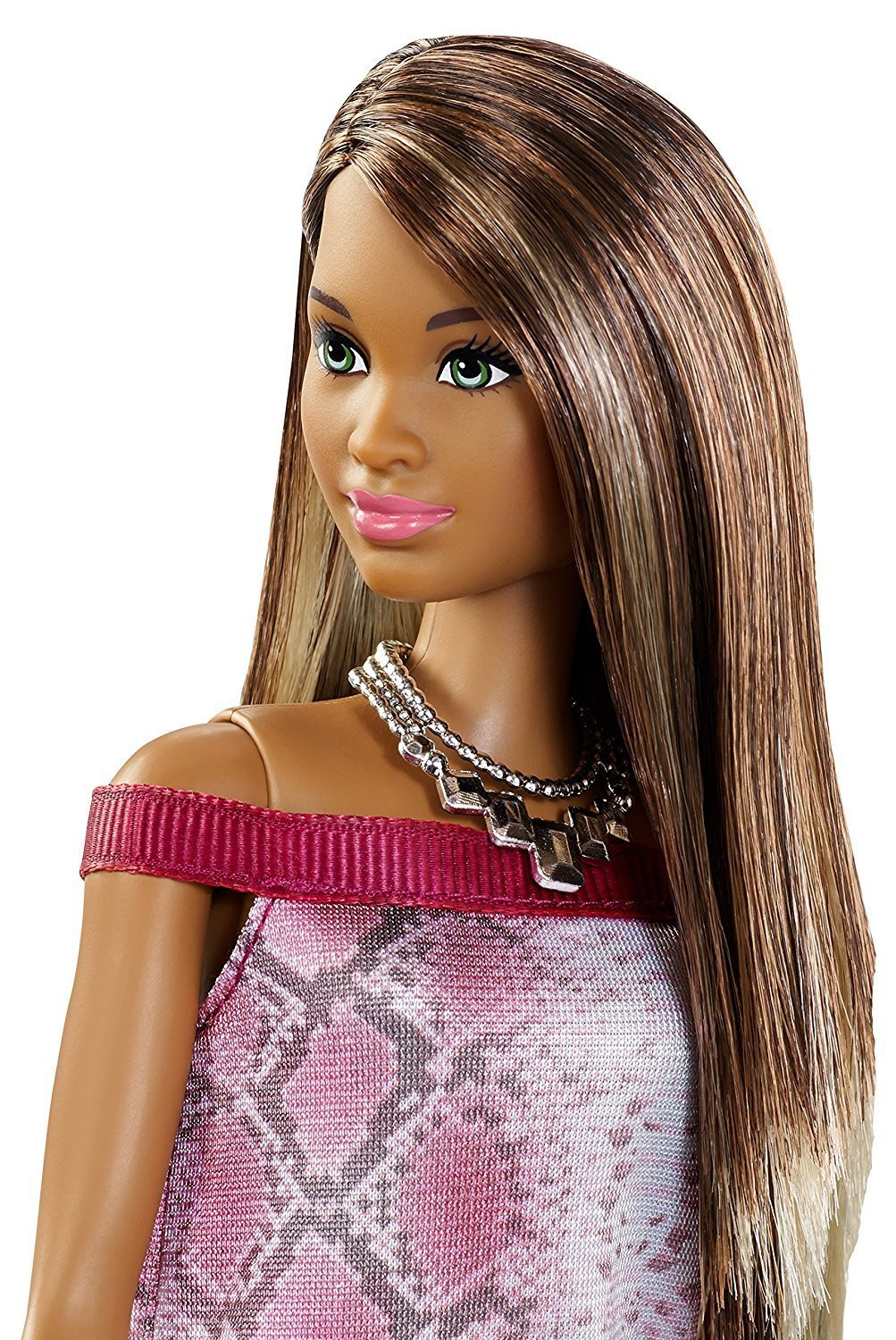 Hair Styling Devices Barbie Fashionistas Doll 21 Pretty In Python Barbie