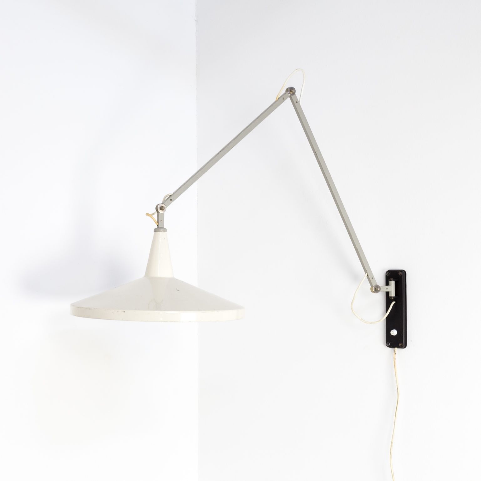Rietveld Wandlamp 50s Wim Rietveld Panama Model 4050 Wall Lamp For Gispen