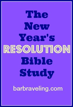 The New Year's Resolution Bible Study