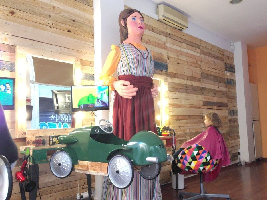 la geganteta peluqueria infantil barcelona