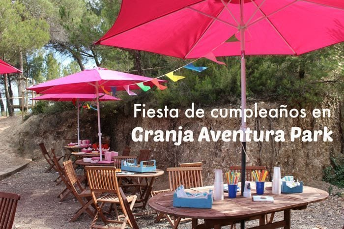 Fiesta cumpleaños Granja Aventura Park