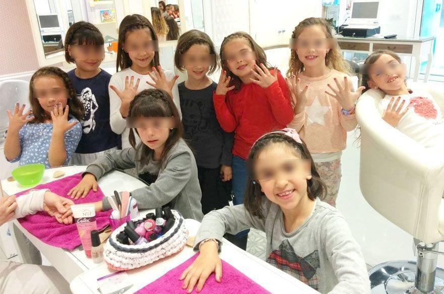 cumpleaños infantiles peluqueria barcelona