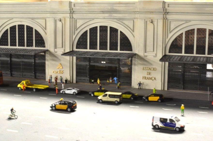 Scopic miniatur maquetas Barcelona