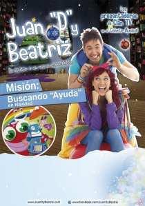 Musical Juan D y Beatriz ciudad arcoiris