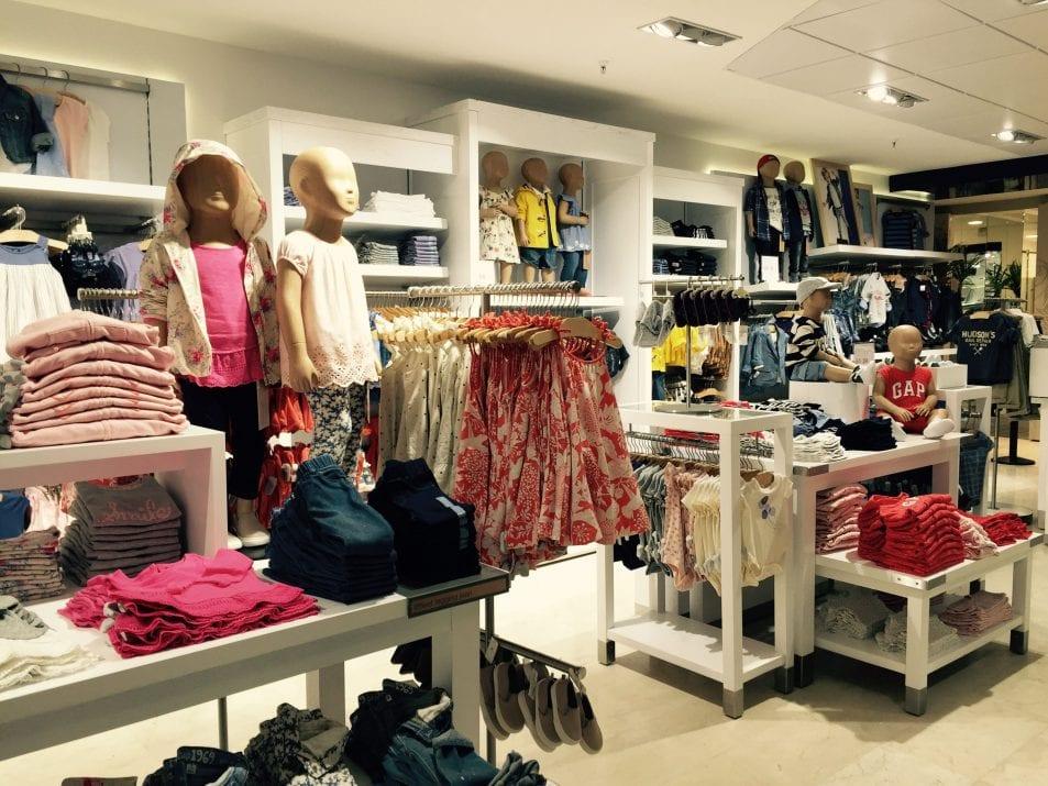 Tiendas populares de compras para adolescentes