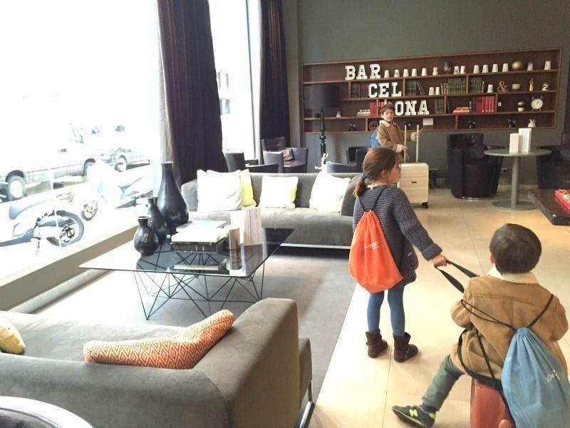Le meridien barcelona un hotel para familias barcelona for Hoteles familiares en barcelona ciudad