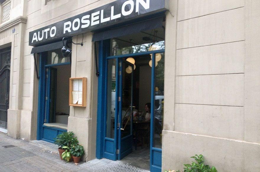 Auto rosell n tomar algo en un antiguo garaje del for Tomar algo en barcelona noche
