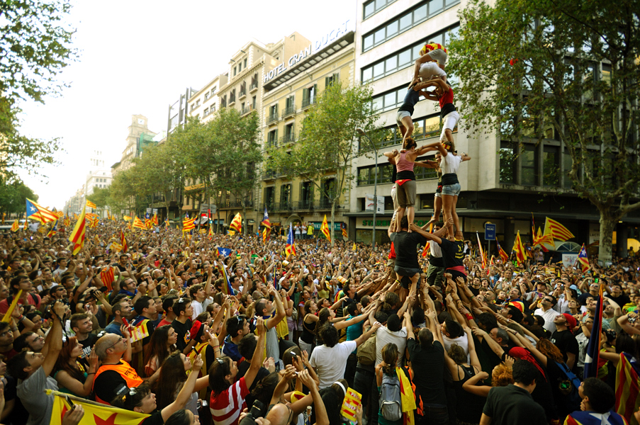 Barcelona Photography Classes Catalan Castellers Catalunya Photo