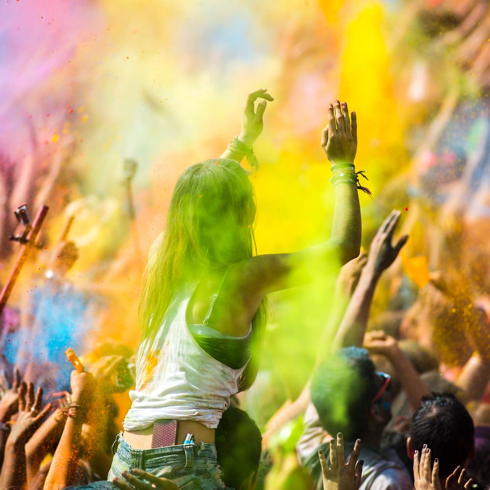 Holi Color Festival Barcelona 2015